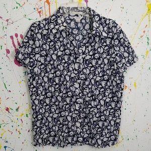 Christopher Banks large blouse